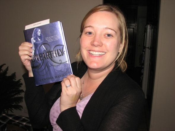 Cynthia Hand wrote Unearthly Series.