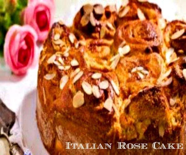 Italian Rose Cake.