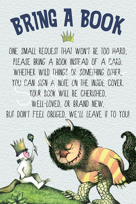 Where the Wild Things Are Baby Shower Invitation - Birthday Party ...