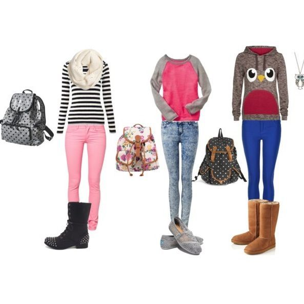 3fa6fab30 cute and simple outfits for school 5 best