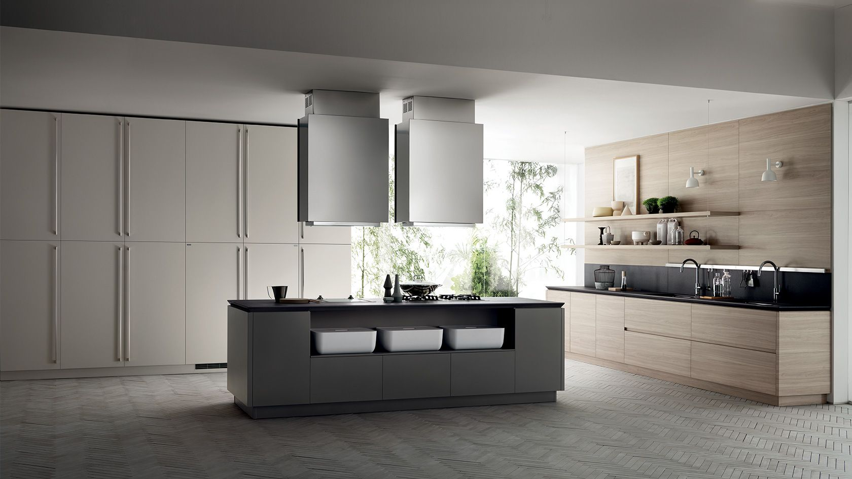 Cucina Ki | Sito ufficiale Scavolini | Spaces where eating is a ...