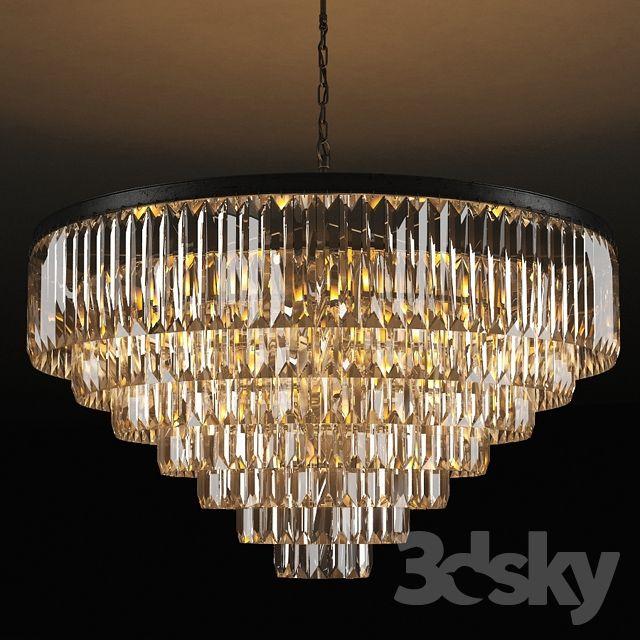 Gramercy Home Adamant 7 Ring Chandelier Ch015 33 Abg Ring Chandelier Chandelier Lamp