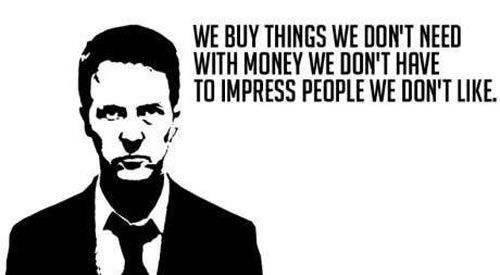 24 Fight Club Quotes, Sayings and Images - Quotes For Bros Ideas - purchase quotations