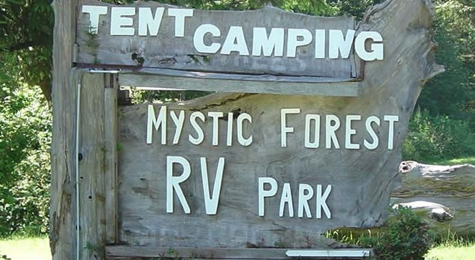 Mystic Forest Rv Park Is Owned And Operated By Tom And Carolyn Atlas The Park Is Located 5 Miles North Of Klamath And 14 Miles Rv Parks Cabin Camping Klamath
