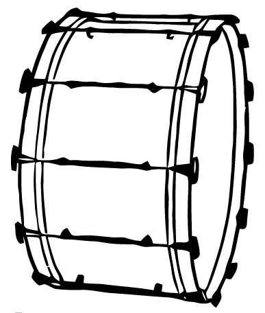 Free Vector Art Bass Drum