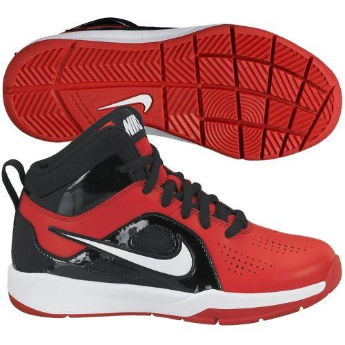 Nike homme' Preschool Team Hustle D 6 Basketball Shoe Rouge/Blanc