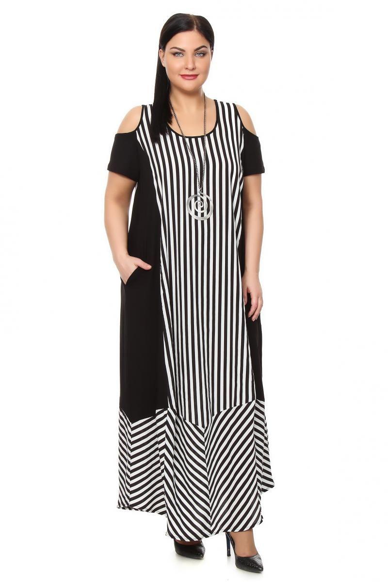Платье большого размера -NATURAXL | Платья, Платья больших ...