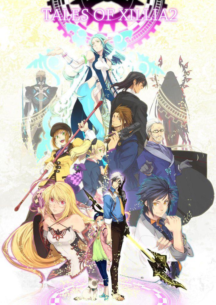 High Quality Prints Bandai Namco Box Art Tales of Vesperia Poster