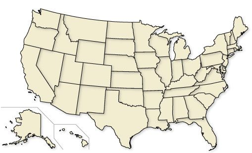 Learn US States Map Memorizecom Remember and Understand