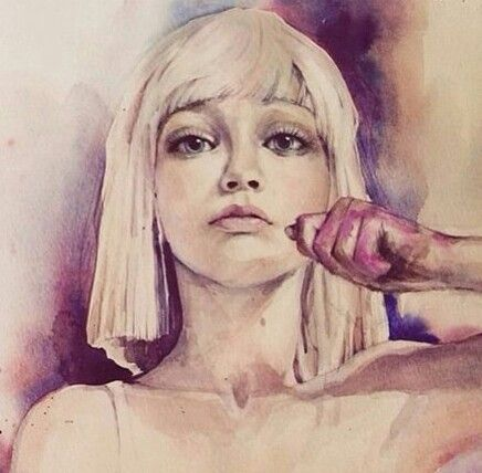 Imagen de sia chandelier and drawing sia pinterest chandelier sia by thitika on deviantart on we heart it aloadofball