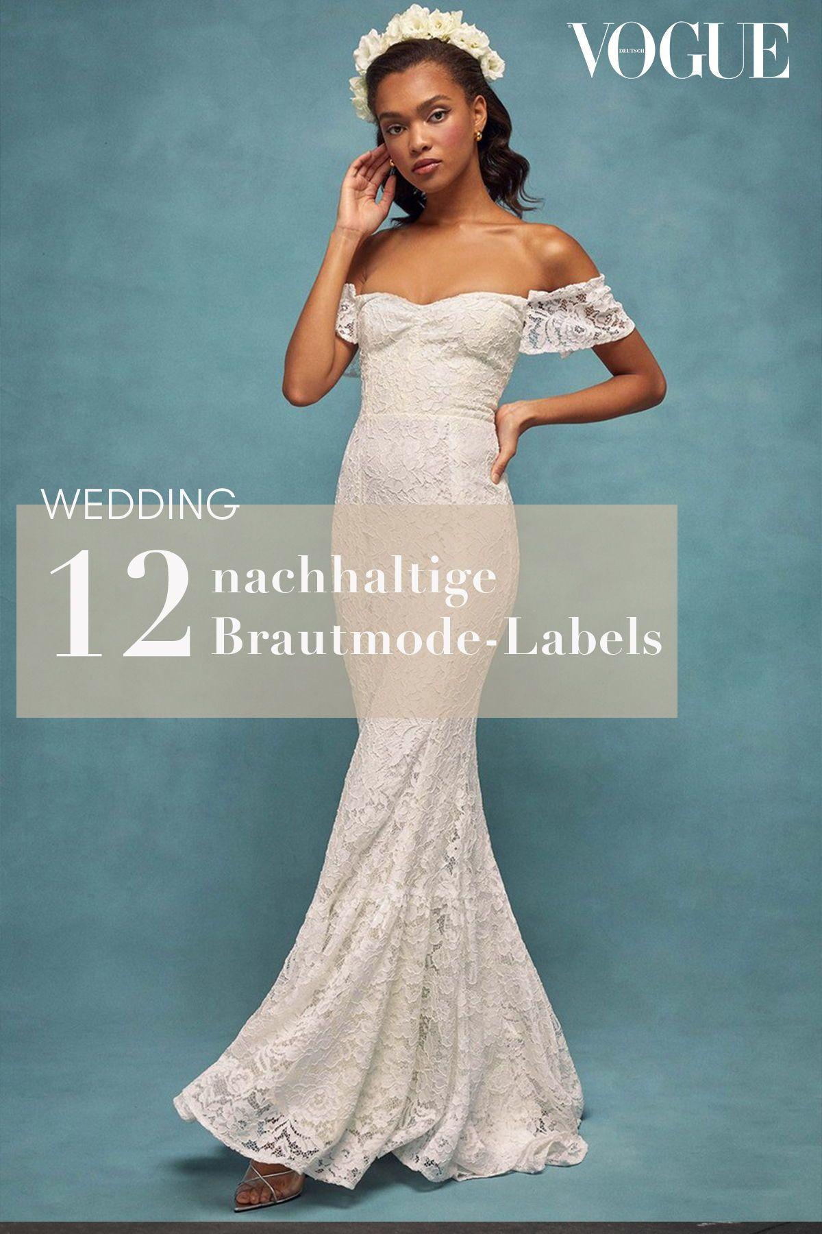 green wedding  12 labels für nachhaltige brautmode