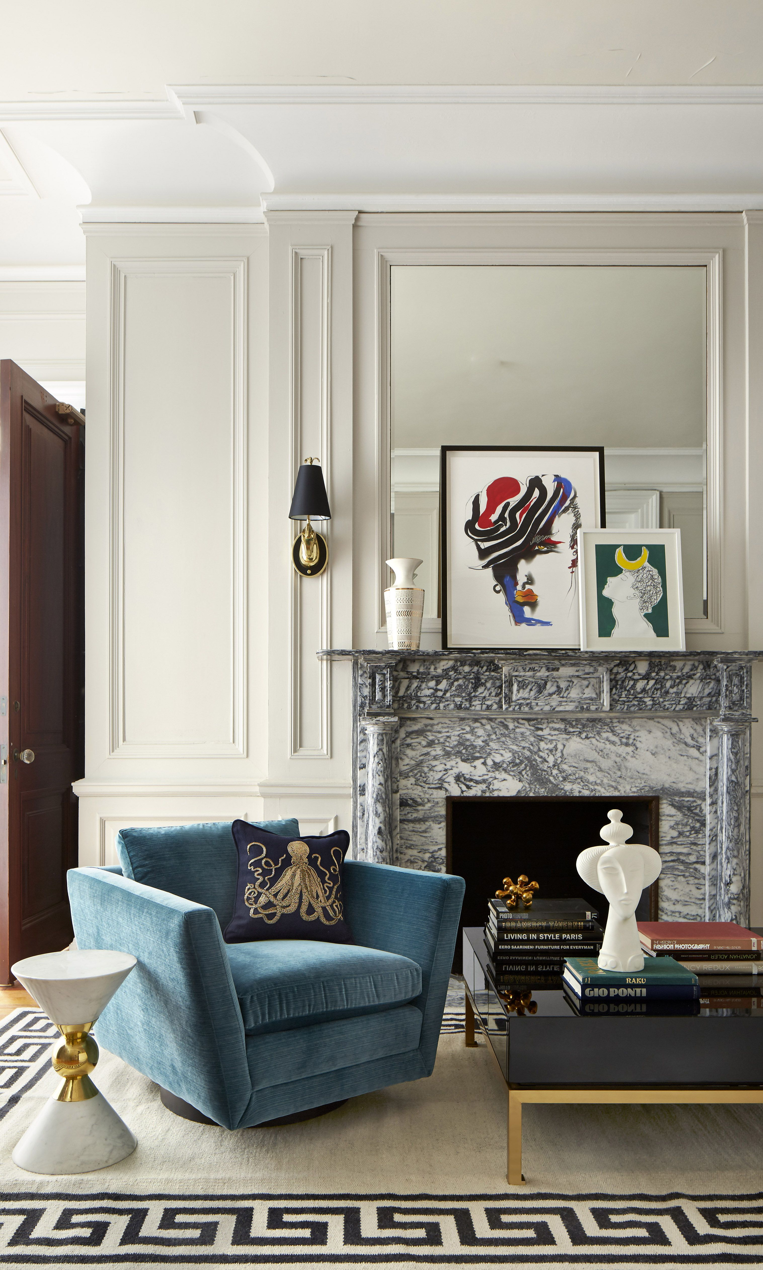 Jewel tones black lacquer shiny brass crisp greek key trim and chinoiserie details are decorating necessities featuring the jonathan adler peking greek