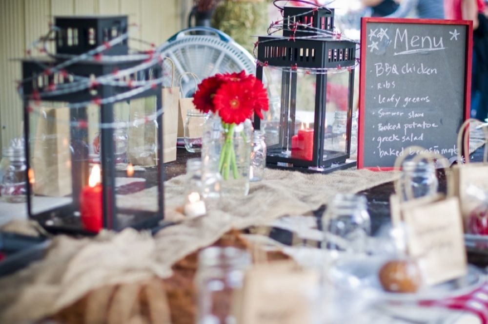 Western Style Rehearsal Dinner With
