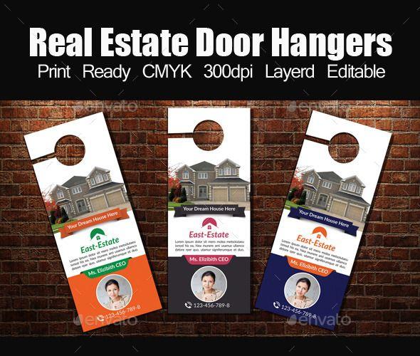 Real Estate Door Hangers Template  Door Hanger Template Template