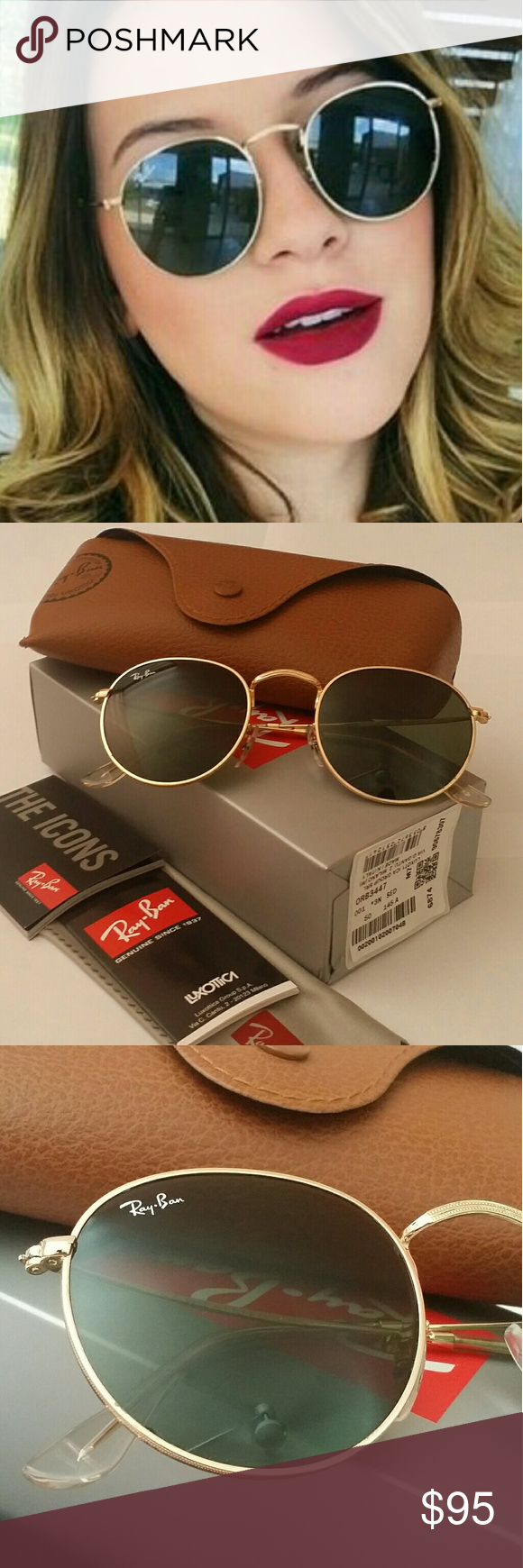 102b31c8a0e 🚩SALE🚩💯% AUTHENTIC RAY-BAN ROUND CLASSIC LENS 🚫Low ball offers