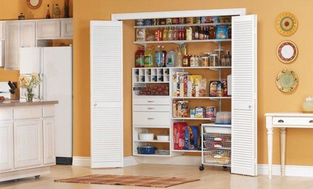 despensa casa alacena espacios abiertos armario cocinas modernas ideas hogar muebles