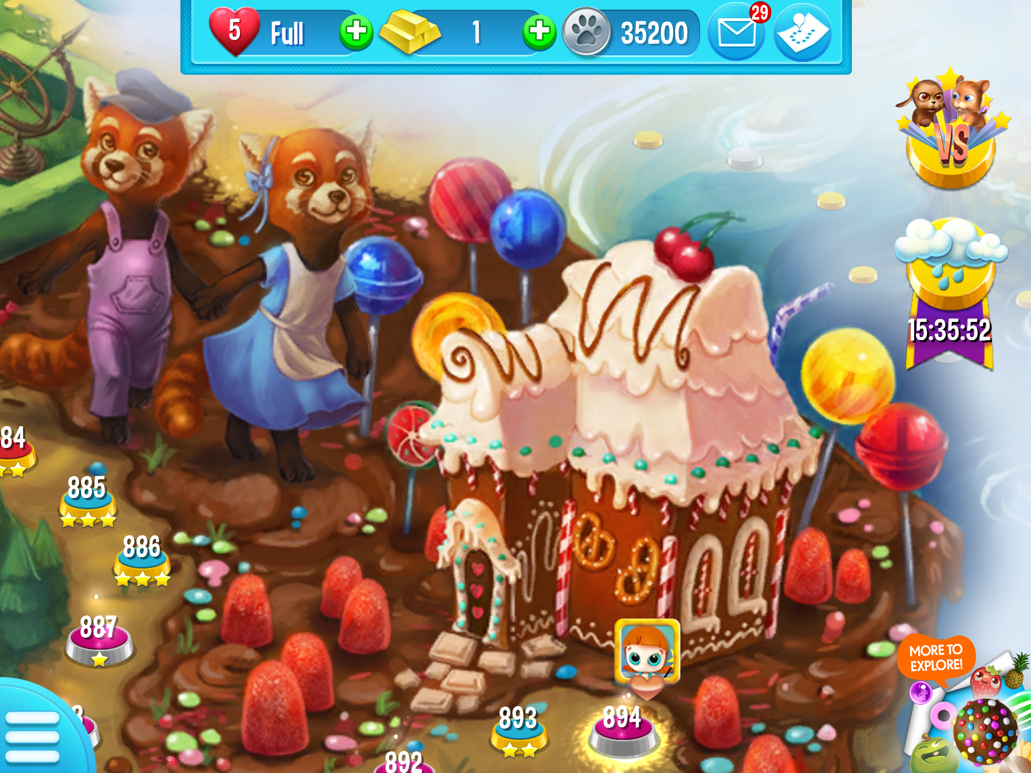 Gosh This Looks So Yummy I M In The Fable Forest Of Pet Rescue Saga Now At Level 894 Pet Rescue Saga Mobile Game Anime