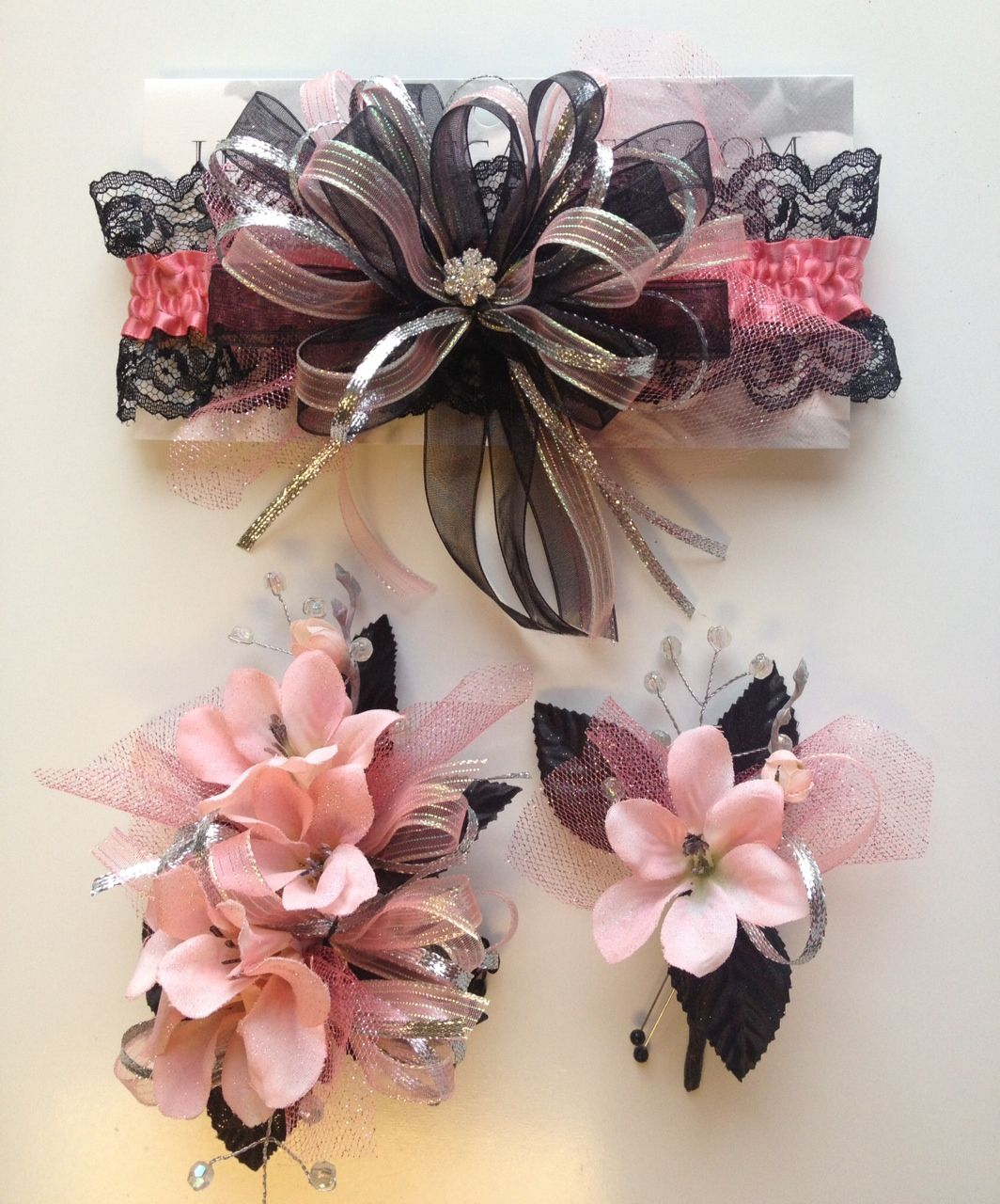 Black Flower Corsage Brooch Masoomah: Prom Corsage And Boutonniere