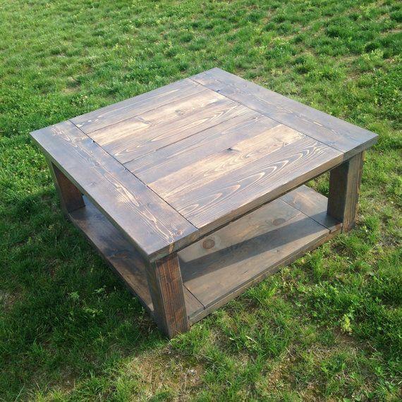 Balustrade Coffee Table Legs Canada: Square Farmhouse Coffee Table