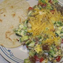 Meatless Monday: Vegetarian Breakfast Tacos -Craftster blog