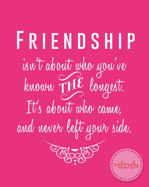 Love this FREE Friendship printable. The perfect gift for my ...