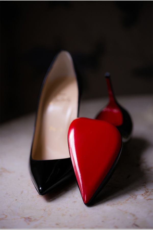 Christian Louboutin | Bridal Shoes | Red and Black