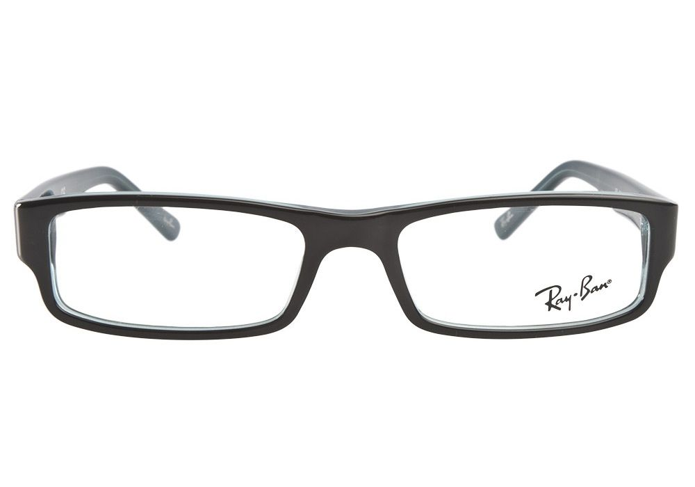 85c8e56f45 Ray-Ban RB5246 5092 Black Grey-Turquoise from  Coastal.com