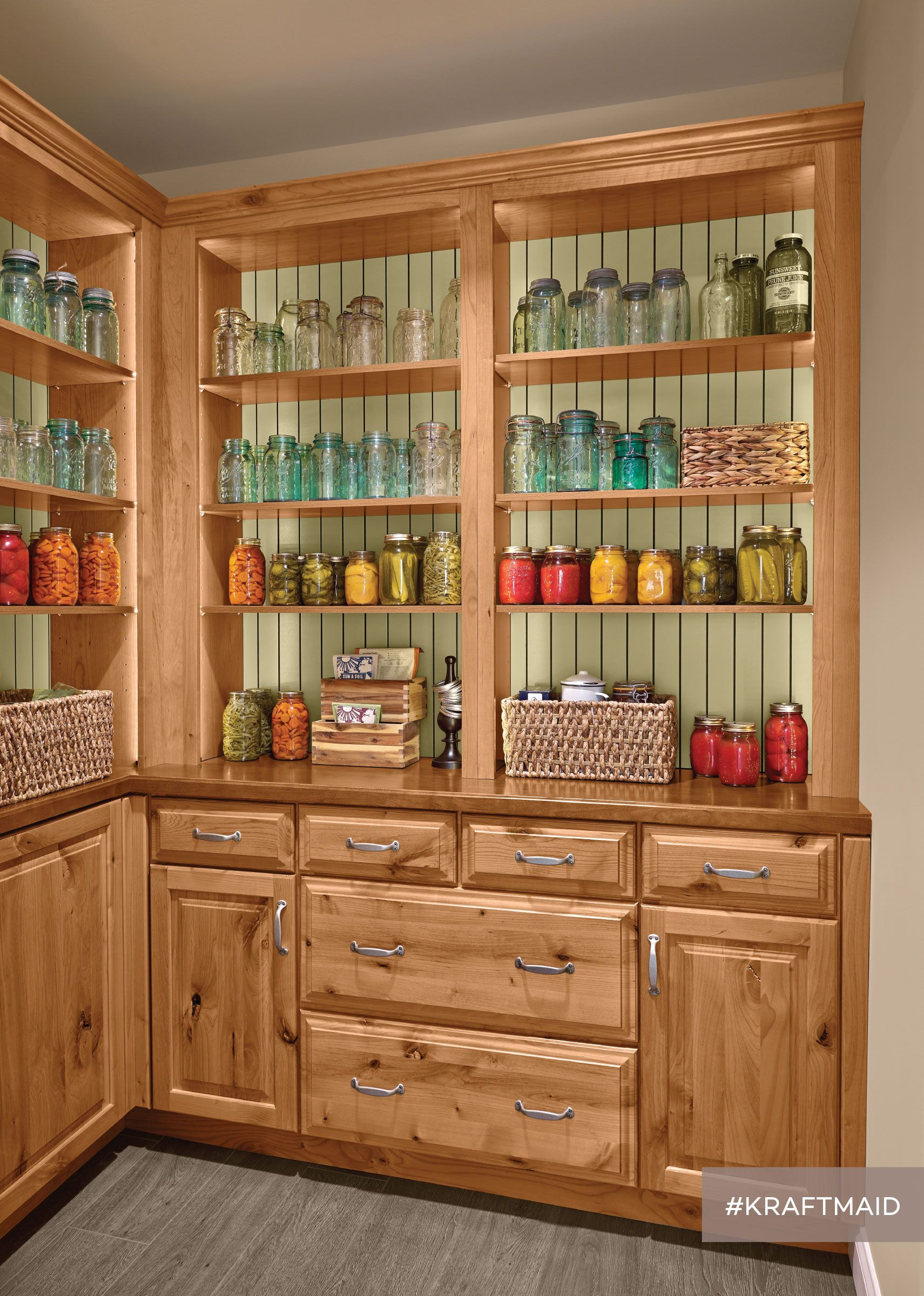 Store All Of Your Extra Canned Goods In This Accessible Walk In Pantry There S Even Plenty Of