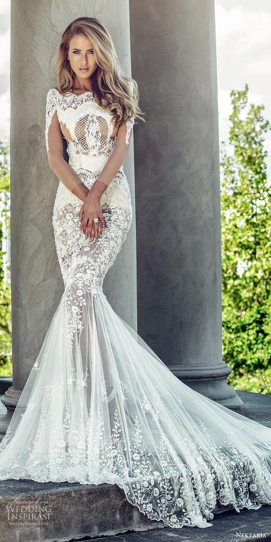 Gorgeous Nektaria Wedding Dresses Wedding Inspirasi Wedding Dress Patterns Dresses Wedding Dresses [ 1800 x 900 Pixel ]