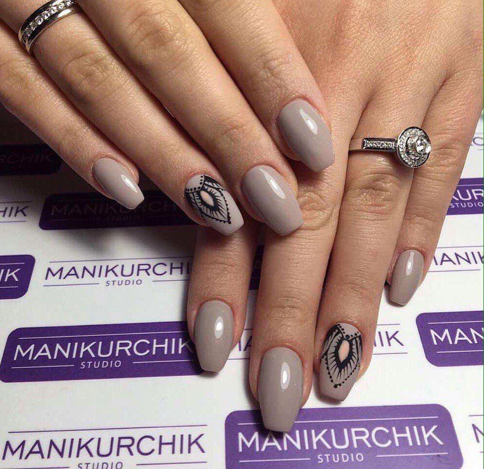 Nail Art #3169 - Best Nail Art Designs Gallery   Plain nails ...