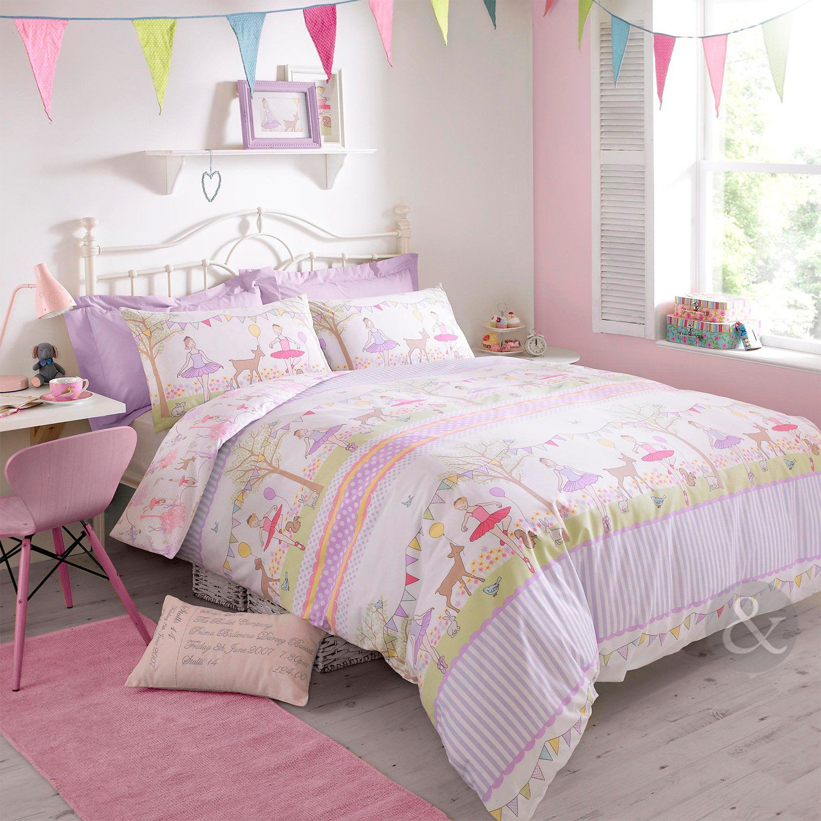 Girls Purple Bedding