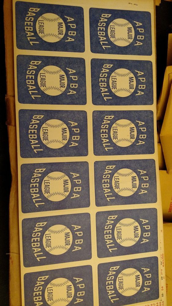 Lot Of Vintage Apba Baseball Cards Early To Mid 70 S Baseball Cards Baseball Cards