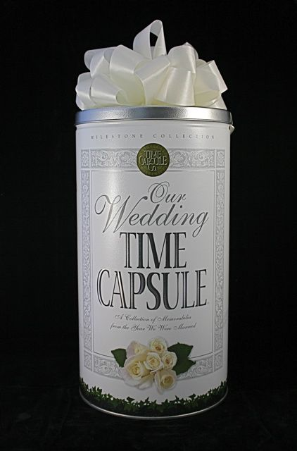 Perfect Unique Wedding Shower Gift Wedding Day Time Capsule Get