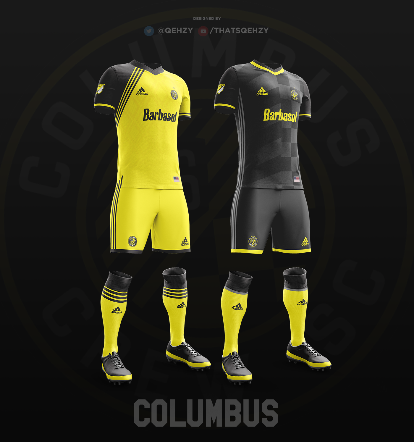 3ff56c9e57 MLS Kits Redesigned (2017) on Behance Camisas De Futebol