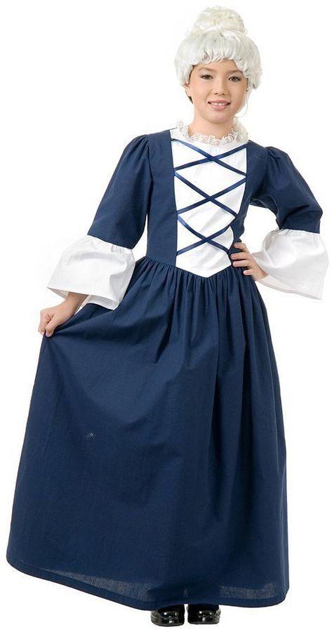 Martha Washington Costume Warm halloween costumes, Halloween - halloween kids costume ideas
