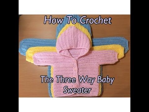 Video Tutorial This Brilliant Baby Sweater Will Make Your Day