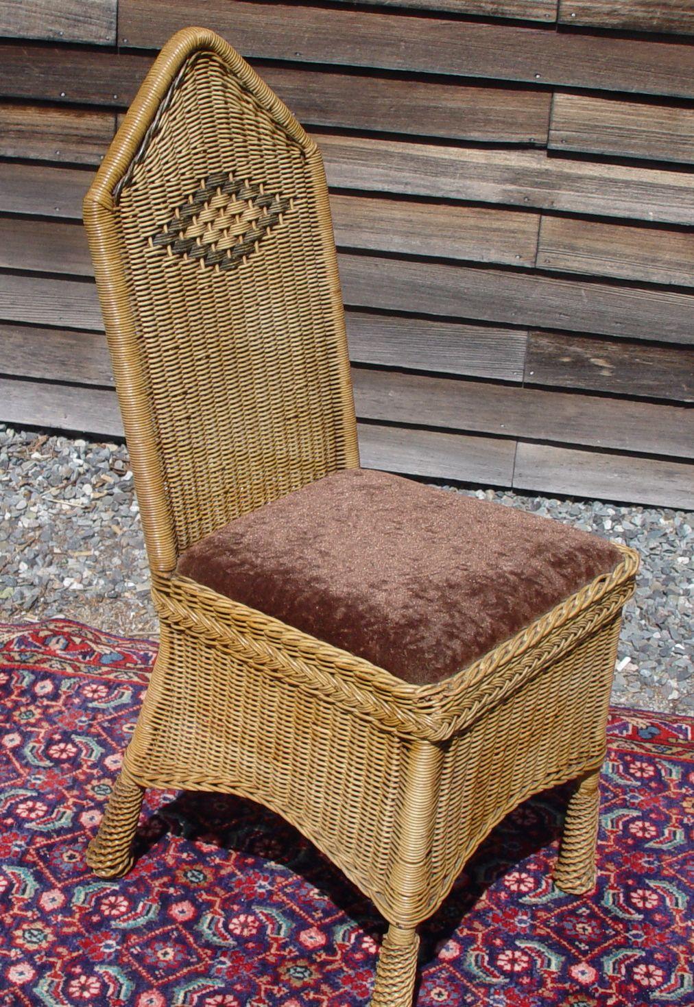 rattan wicker chair repair