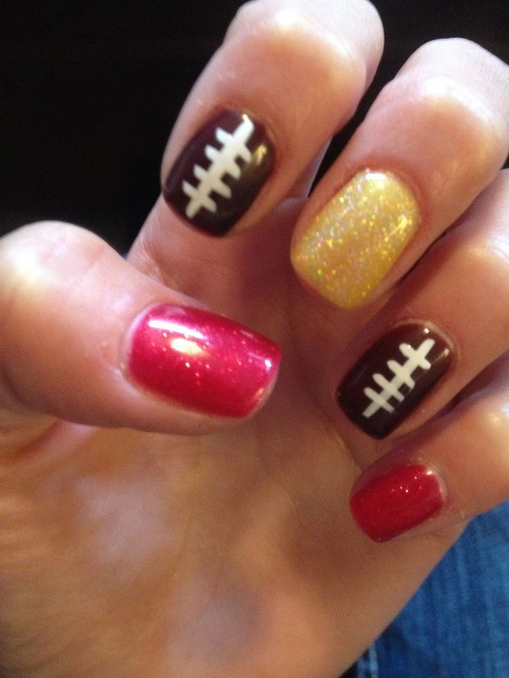 Outstanding 49er Nail Art Gift - Nail Art Ideas - morihati.com