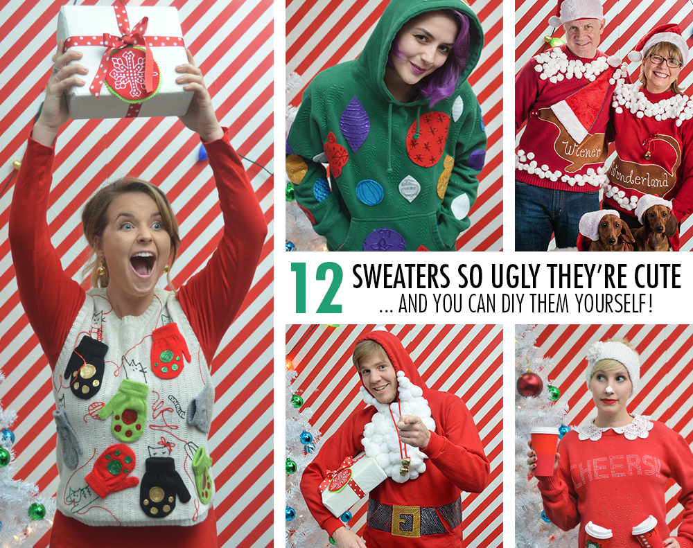 These 12 ugly sweater ideas are perfect for your ugly holiday 12 ugly sweaters so ugly theyre cute solutioingenieria Choice Image