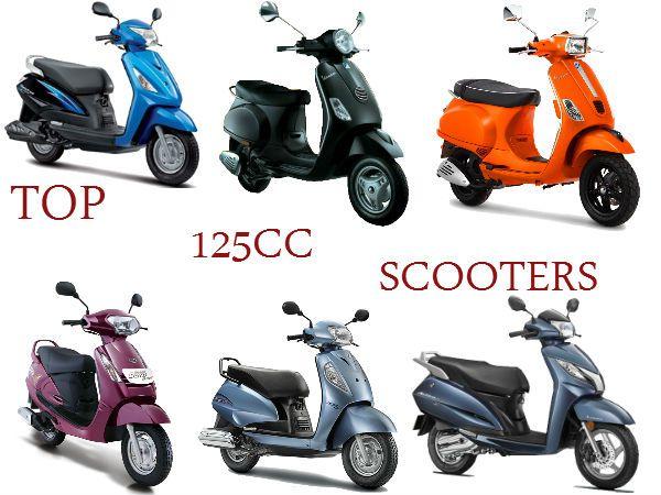 Top 125cc Scooter In India Mileage Features Comparison 125cc