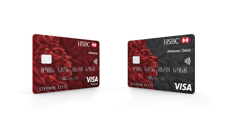 """HSBC rolls out new """"simplified"""" bank card design - Design"""
