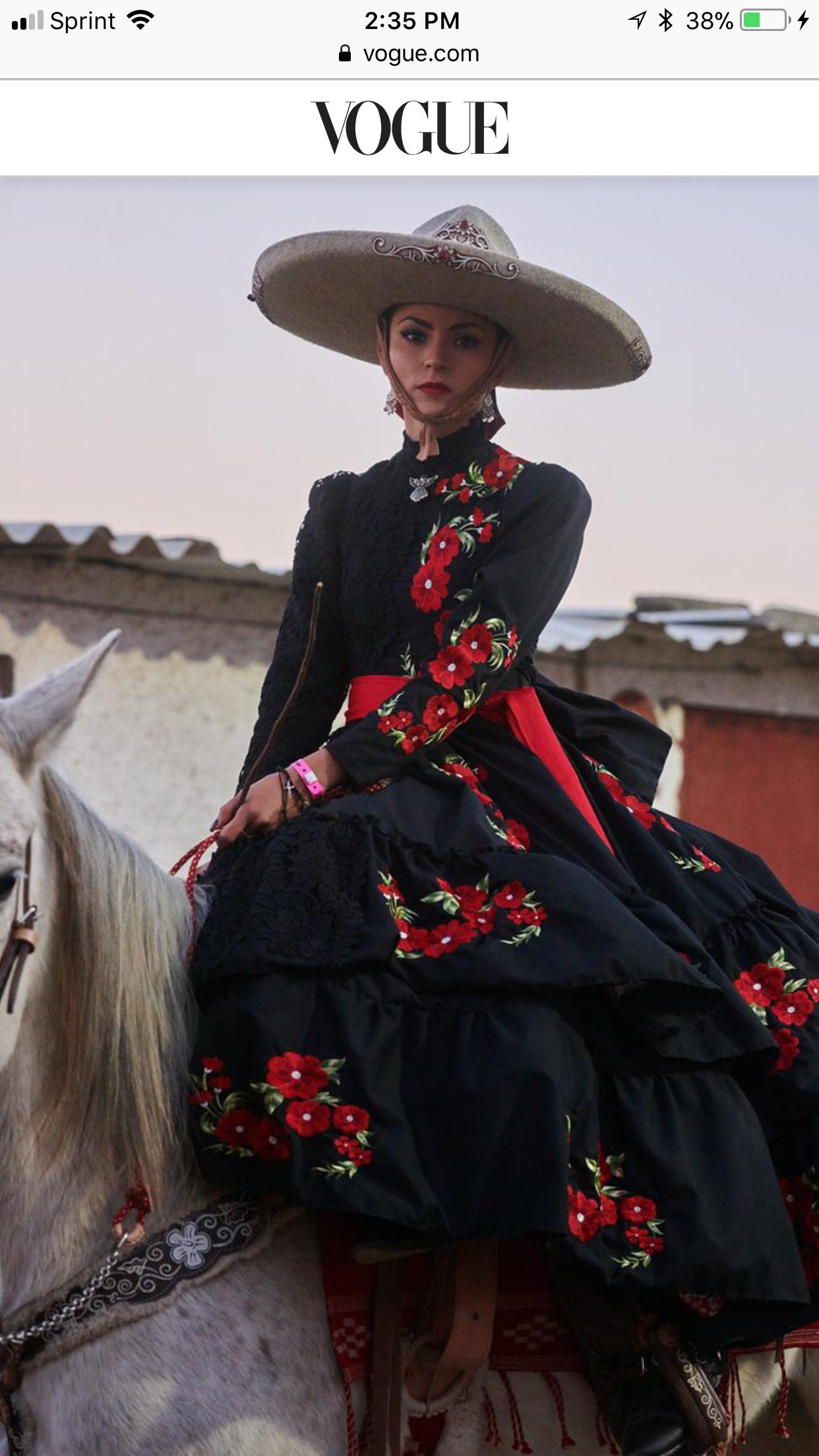 Pin De Valentin En Pura Belleza Vestidos Escaramuza