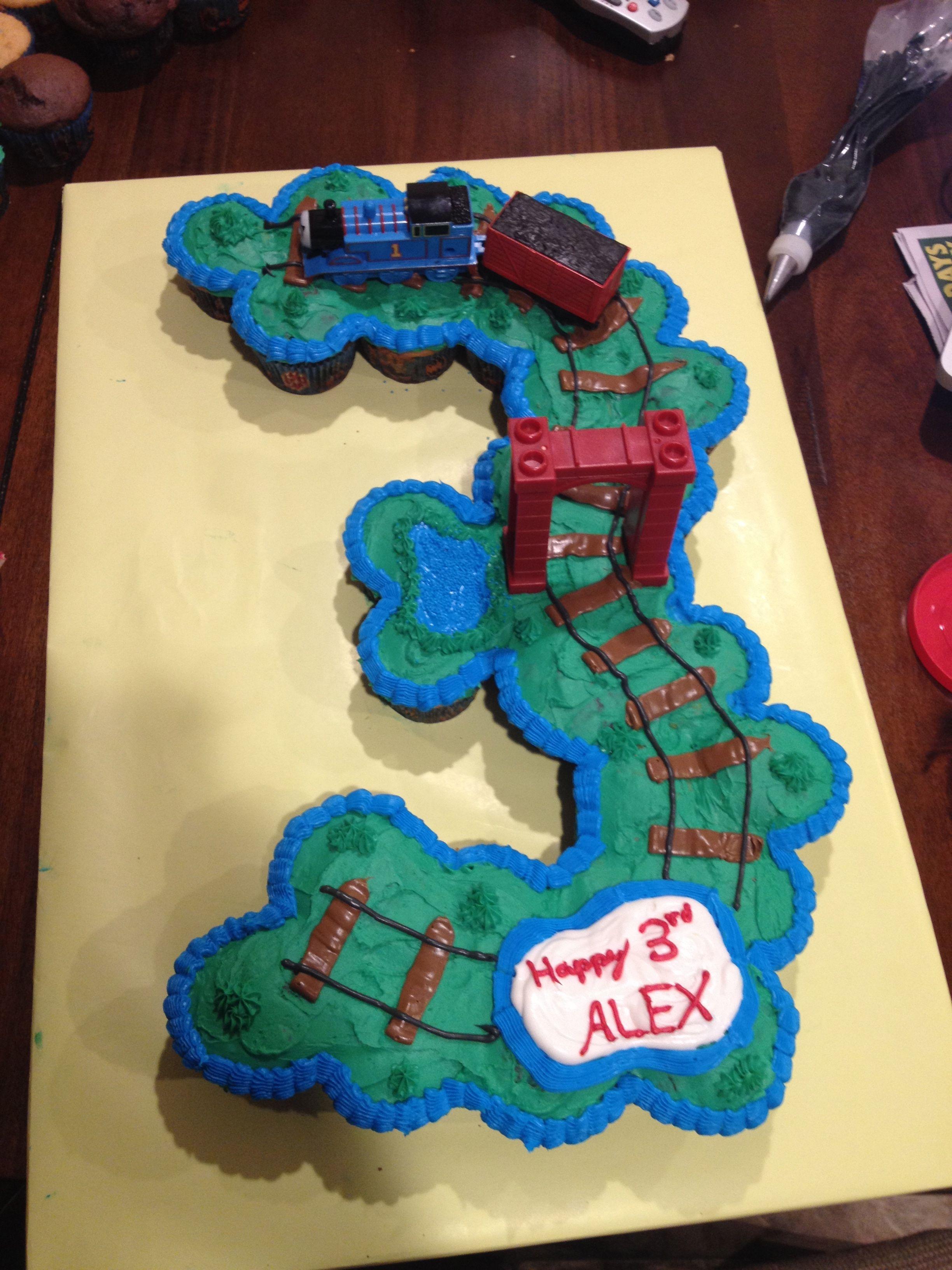 Thomas The Tank Engine 3 Cupcake Cake Fun Time Cakes