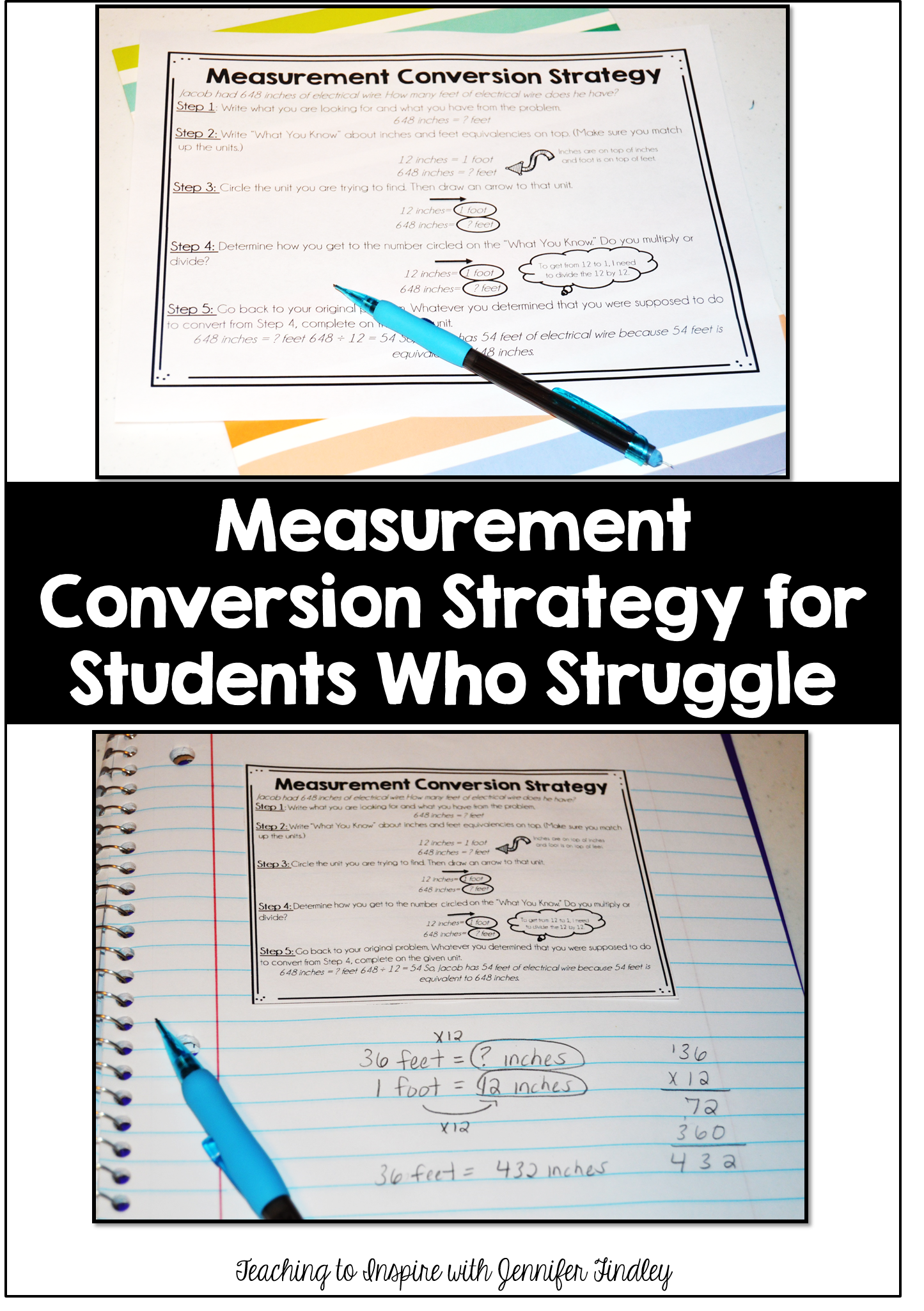 Measurement Conversions For Kids Who Just Dont Get It Teaching To