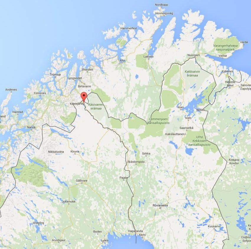 Kilpisjarvi In Lapland Google Maps Suomi