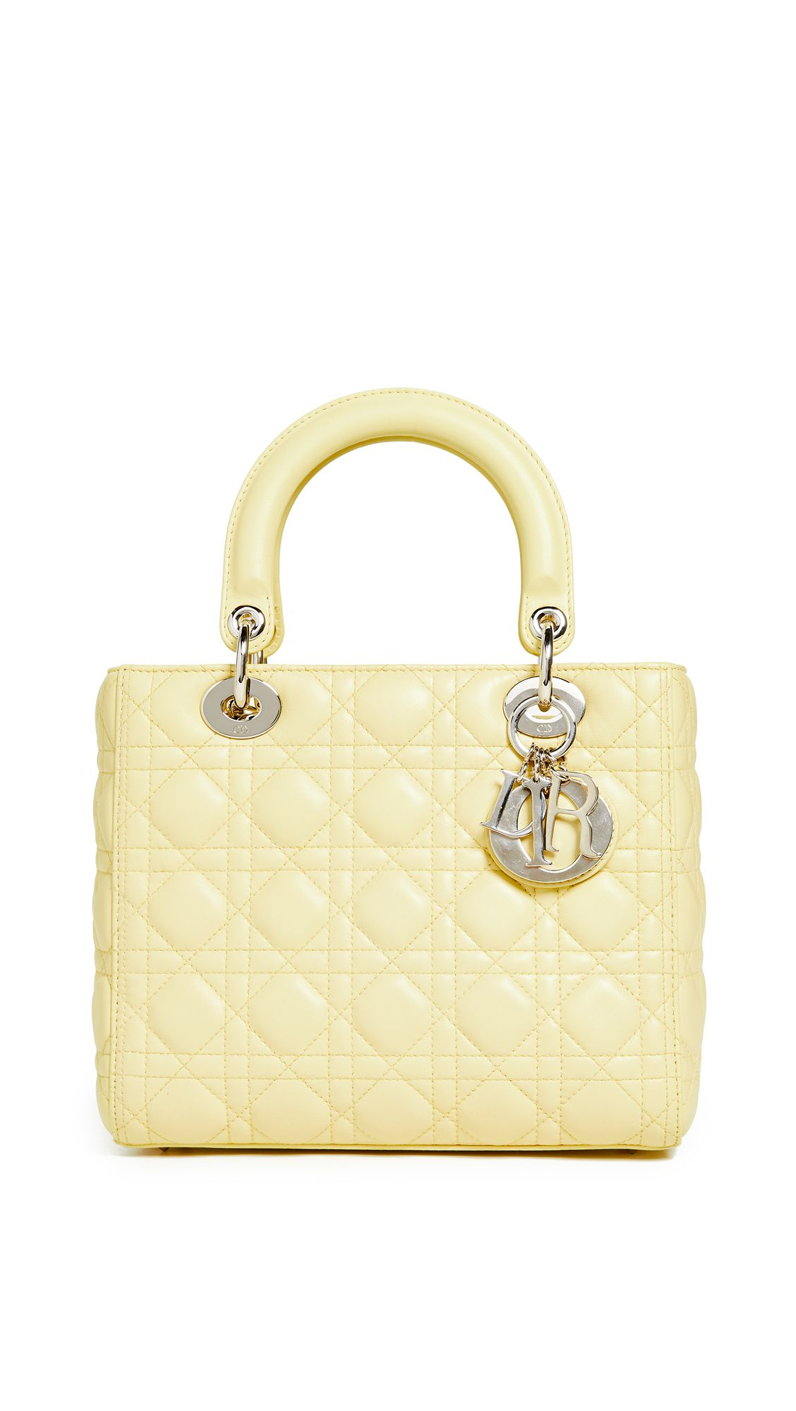 WHAT GOES AROUND COMES AROUND DIOR LAMBSKIN MEDIUM LADY DIOR BAG.   whatgoesaroundcomesaround  bags ad2ee66441ed2
