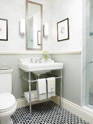 Elegant Redecorating Bathroom On A Budget