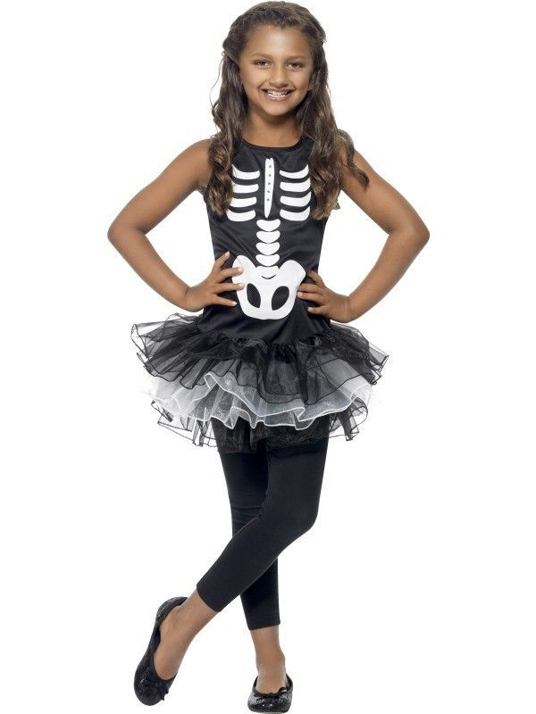 3027be603f Disfraz Esqueleto tutú niña