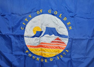 Be Part of Golden History: Help Design a New City Flag!  Entries can be emailed to Nathan Richie or mailed to Golden Flag Contest c/o Golden History Museums, 923 10th St. Golden, CO 80401.    More information can be found online at www.GoldenHistory.org/flag.php.