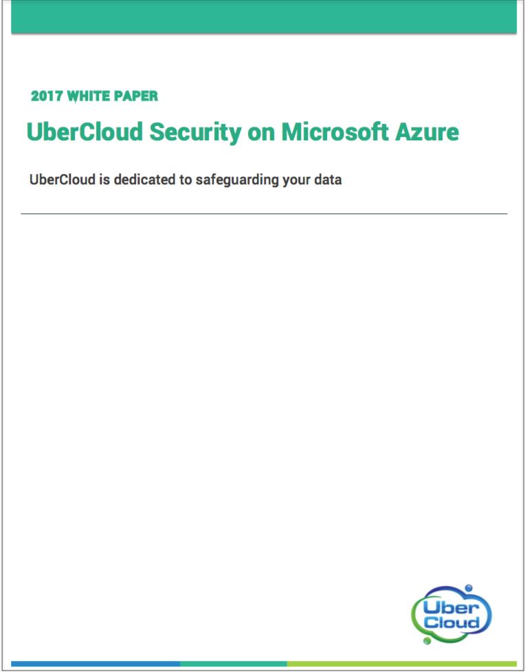 Microsoft Azure Cloud Security Microsoft Azure Security